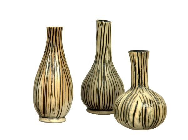 "Mini-Vasen ""Afrika"" im Set"
