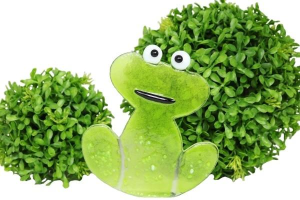 Frosch hellgrün klein