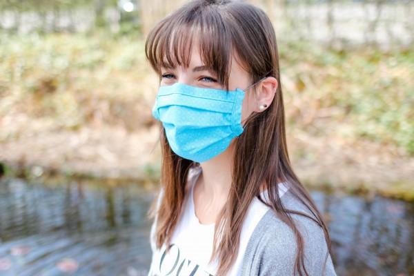 Mund- und Nasenmaske Standard (mit Gummizug)