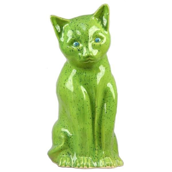 Katze grün