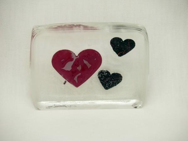 3-D Block Herz