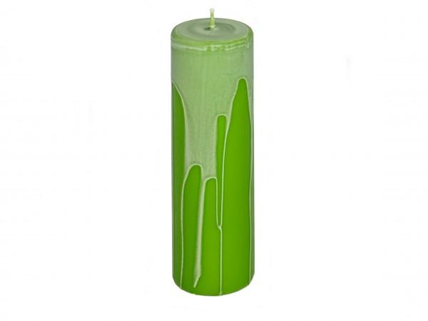 Laternenlicht 11,5 cm grün marmorweiß